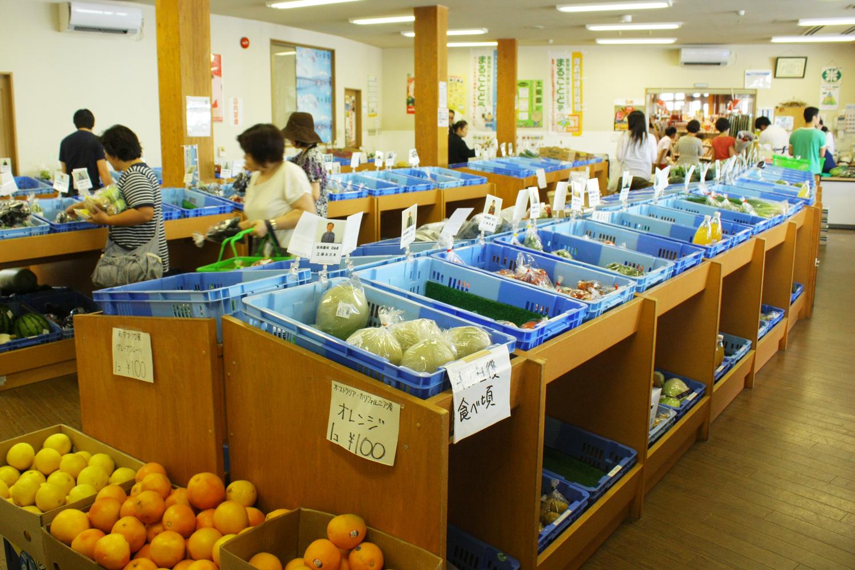販賣各種使用鶴田町農產品加工製成食品