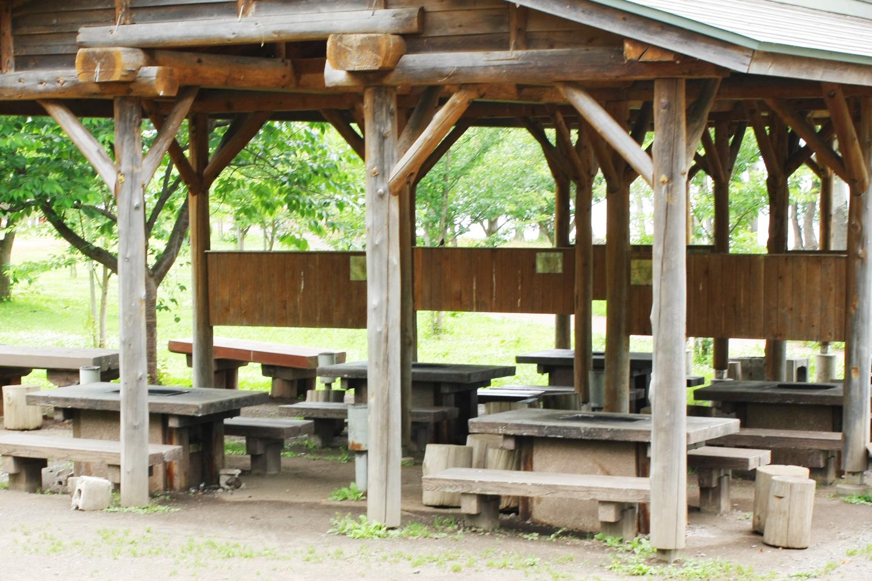 富士見湖公園的8座BBQ設備