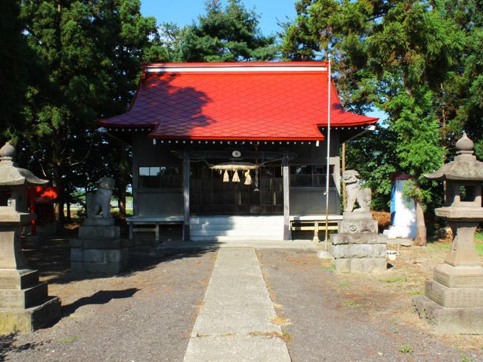 稻荷神社(木筒)