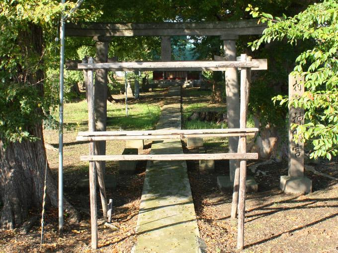 神明神社(菖蒲川)