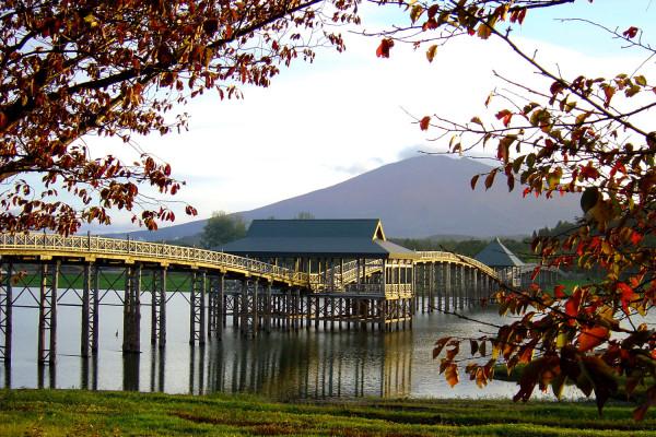 秋季津輕富士見湖