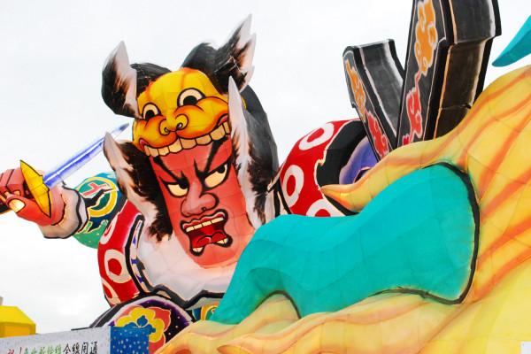 鶴田水火祭典