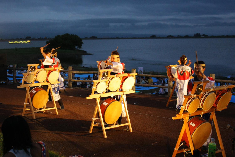 鶴田水火之祭典